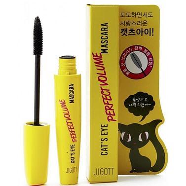 Тушь объем JIGOTT Cat`S Eye Perfect Volume Mascara, 12гр.