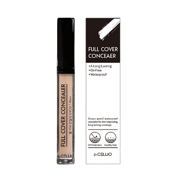 Консилер Dr.CELLIO Full Cover Concealer SPF28/PA++, 6,5 гр. - тон 02