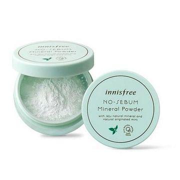 Бесцветная минеральная матирующая рассыпчатая пудра Innisfree No-Sebum Mineral Powder, 5гр.