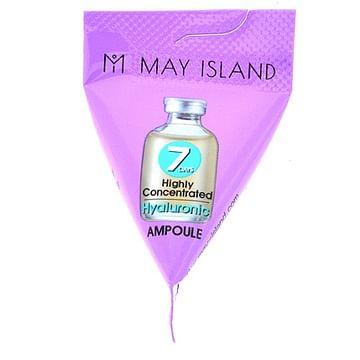 Увлажняющая ампула с гиалуроновой кислотой MAY ISLAND 7 Days Highly Concentrated Hyaluronic Ampoule, 3мл.