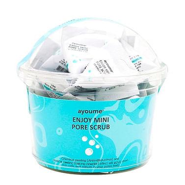 Скраб с содой для очищения пор AYOUME Enjoy Mini Pore Scrub 1 шт./3 гр.