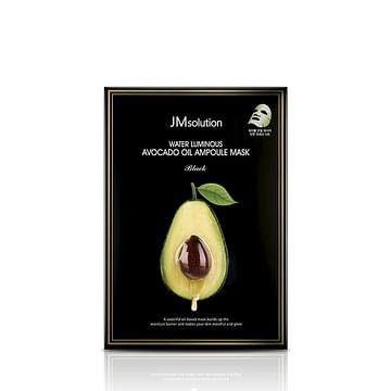 Питательная ультратонкая маска с авокадо JMsolution Water Luminous Avocado Oil Ampoule Mask, 1шт./30мл.