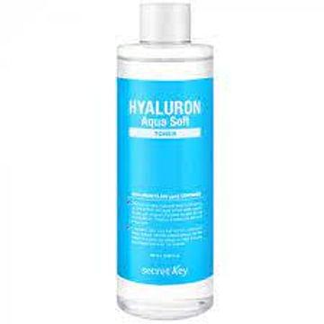 Тонер увлажняющий с гиалуроновой кислотой Secret Key Hyaluron Aqua Soft Toner, 500мл.