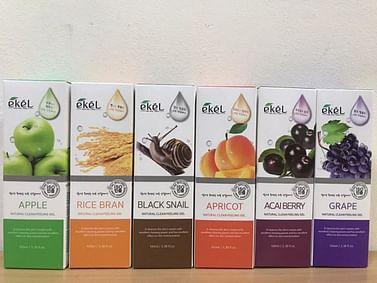 Пилинг-гель (скатка) для лица Ekel Natural Clean Peeling Gel, 100мл. - Виноград