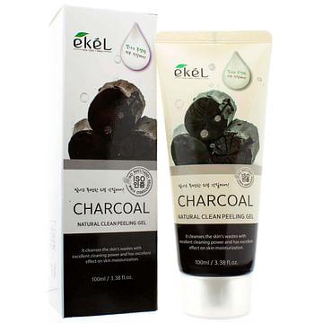 Пилинг-гель (скатка) для лица Ekel Natural Clean Peeling Gel, 100мл. - Уголь
