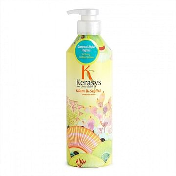 Парфюмированный кондиционер Kerasys Glam & stylish perfumed shampoo 600ml