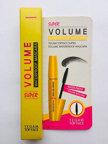 У/Т Тушь для ресниц Ye Gam Top Face Waterproof Mascara, 12мл. Объём (желтая)