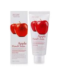 Крем для рук 3W CLINIC Hand Cream, 100мл. - Яблоко