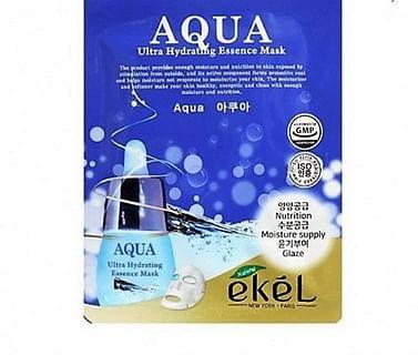 РОЗНИЦА Тканевая маска для лица Ekel Ultra Hydrating Essence Mask, 25мл.