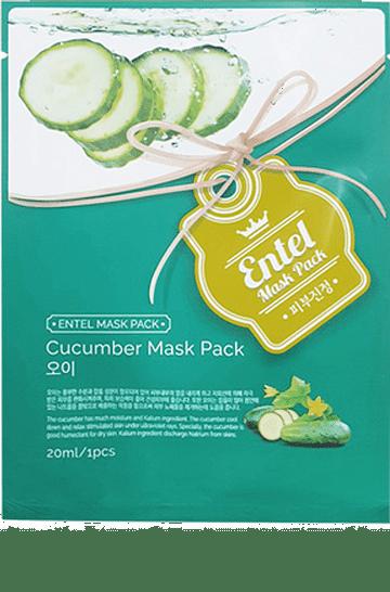 РОЗНИЦА Тканевая маска для лица Entel Mask Pack