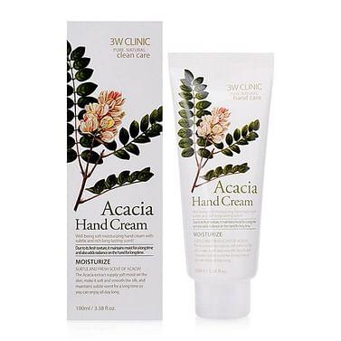 Крем для рук 3W CLINIC Hand Cream, 100мл. - Акацмя
