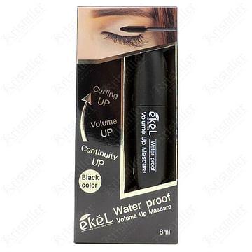 Водостойкая тушь для ресниц подкручивание и объём Ekel Volume Up Mascara Black Water proof, 12 гр.