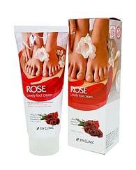 Крем для ног 3W CLINIC Foot Cream , 100мл. - Роза
