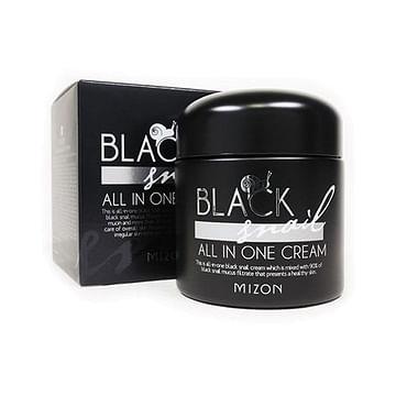 Крем для лица MIZON Black Snail All In One Cream, 75мл.