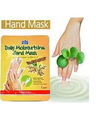 Ультра-увлажняющая маска-перчатки для рук PUREDERM Daily Moisturizing Hand Mask Oatmel, 1 пара