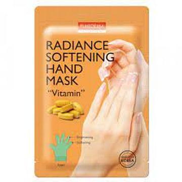 Смягчающая витаминная маска для рук PUREDERM Radiance Softening Vitamin Hand Mask, 1 пара