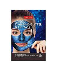 Антивозрастная подтягивающая маска-пленка PUREDERM Galaxy Diamond Glitter Blue Mask, 10гр.