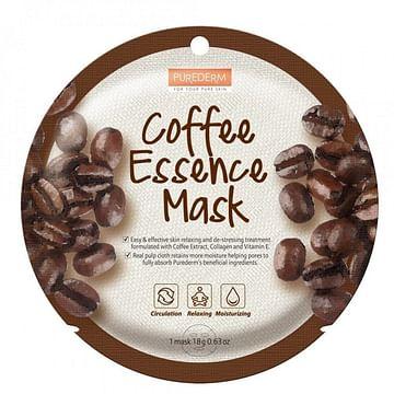Маска для лица с экстрактом кофе PUREDERM Coffee Essence Mask, 18гр.