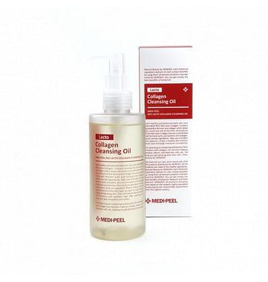 Гидрофильное масло с лактобактериями MEDI-PEEL Red Lacto Collagen Cleansing Oil, 200мл.