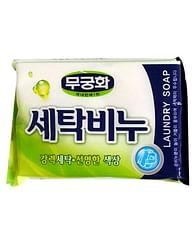 Хозяйственное мыло Mukunghwa Laundry Soap, 230гр. - Универсальное (зеленая)