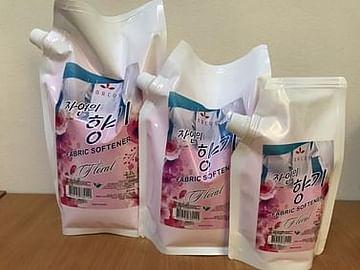 Кондиционер для белья KORCOS Floral Fabric Softener, 350мл.