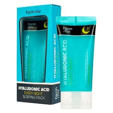 Увлажняющая ночная маска с гиалуроновой кислотой Farm Stay Hyaluronic Acid Every Night Sleeping Pack, 120мл.