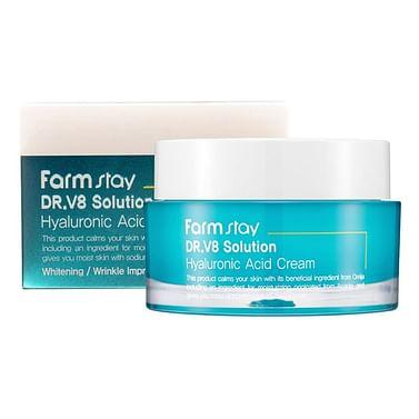 Увлажняющий крем с гиалуроновой кислотой Farm Stay Dr.V8 Solution Hyaluronic Acid Cream, 50мл.