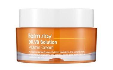 Осветляющий крем с витаминами Farm Stay Dr.V8 Solution Vitamin Cream, 50мл.