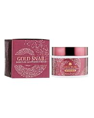 Крем для лица с муцином улитки Enough Gold Snail Moisture Whitening Cream, 50мл.