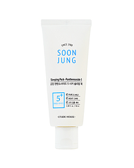 Ночная маска для ухода за чувствительной и поврежденной кожей лица Etude House Soon Jung Sleeping Pack – Panthensoside 5, 100мл.