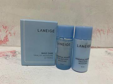 Набор для лица (мини) LANEIGE Basic Care Trial Kit Moisture, 15мл.*15мл - 2 предмета