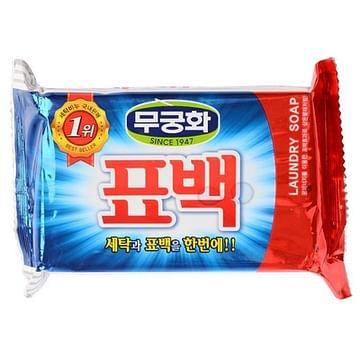 Мыло хоз. кусковое отбел. и пятновыводящее для цветного белья Mukunghwa Laundry Soap, 230гр.