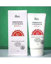 Солнцезащитный крем Ekel Soothing&Moisture Sun Block SPF 50 PA+++, 70мл.