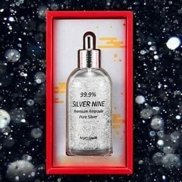 Сыворотка Премиум класс с чистым серебром 99.9% Angel's Liquid Selver Nine Premium Ampoule Pure Silver, 100мл.