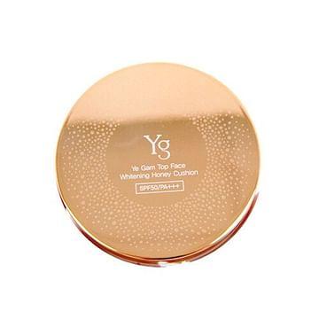 Медовый кушон с запаской Ye Gam Top Plus Yg Whitening Honey Cushion SPF50, 14гр.+14гр.