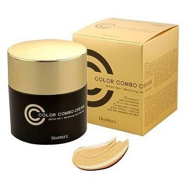 СС-крем с антивозрастным эффектом 5в1 Deoproce СС color combo cream, 40гр.