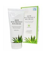 ВВ крем с экстрактом алоэ JIGOTT Aloe Sun Protect bb cream SPF41 PA++, 50мл.