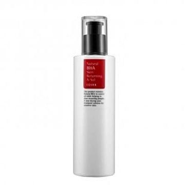 Лечебный тоник для проблемной кожи с кислотами и прополисом COSRX Natural BHA Skin Returning A-Sol, 100мл.