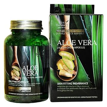 Ампульная сыворотка для лица с Алоэ Вера Eco branch All-In-One Ampoule Aloe Vera, 250мл.