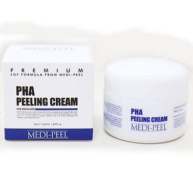 Ночной обновляющий пилинг-крем с PHA-кислотами MEDI-PEEL PHA Peeling Cream, 50мл.