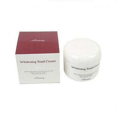 Отбеливающий крем для лица с муцином улитки Ariany Whitening Snail Cream, 100 гр.