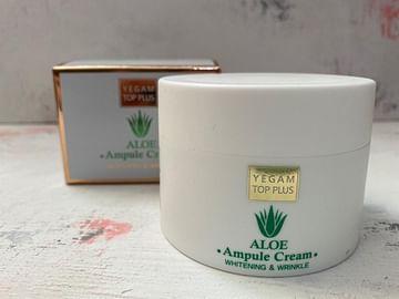 Крем для лица Ye Gam Top Plus Ampule Cream, 80 мл. - Алоэ