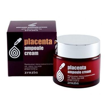 Крем для лица на основе плаценты zenzia Placenta Ampoule Cream, 70 мл.