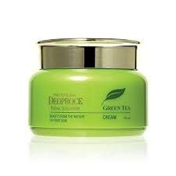 Увлажняющий и тонизирующий крем с экстрактом зеленого чая Deoproce Premium Green Tea Total Solution Cream, 100мл.