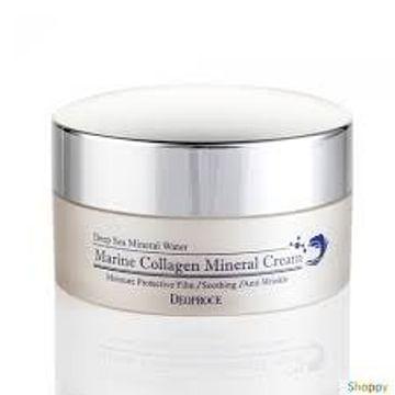 Крем для лица Морской коллаген и Эпидермальный фактор роста Deoproce Marine Collagen Mineral Cream, 100гр.