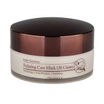 Расслабляющий крем с жиром норки Deoproce Relaxing Care Mink Oil Cream, 100гр.