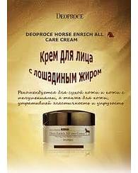 Крем для лица с Кунжутным маслом и лошадиным жиром Deoproce Horse Entrich All Care Cream, 100гр.