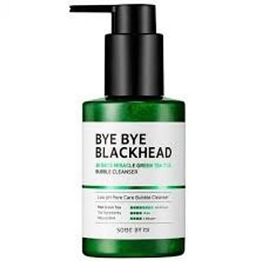 Кислородное очищающее средство против чёрных точек SOME BY MI Bye Bye Blackhead Bubble Cleanser, 120гр.
