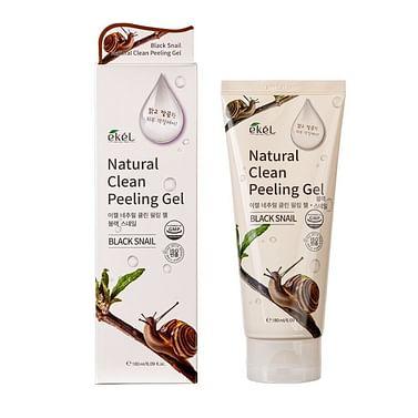 Пилинг-гель (скатка) для лица Ekel Natural Clean Peeling Gel, 180мл. - Улитка