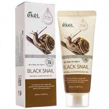 Пилинг-гель (скатка) для лица Ekel Natural Clean Peeling Gel, 100мл. - Улитка